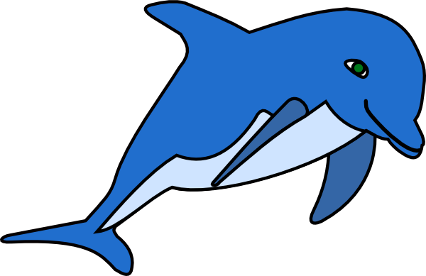 Clip art vector online. Dolphin clipart royalty free