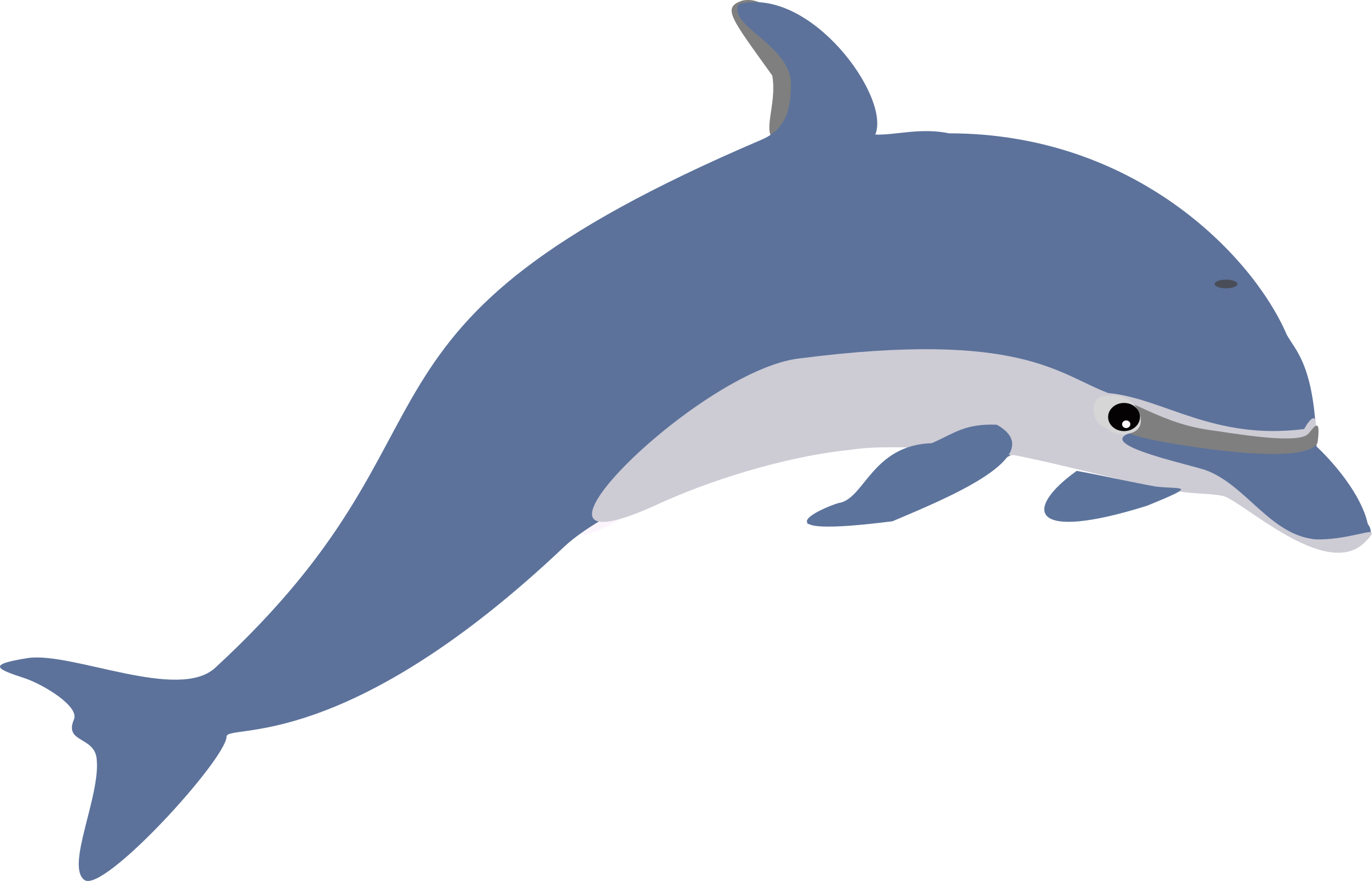 Clipart dolphin scene. Dolphins reading pencil and