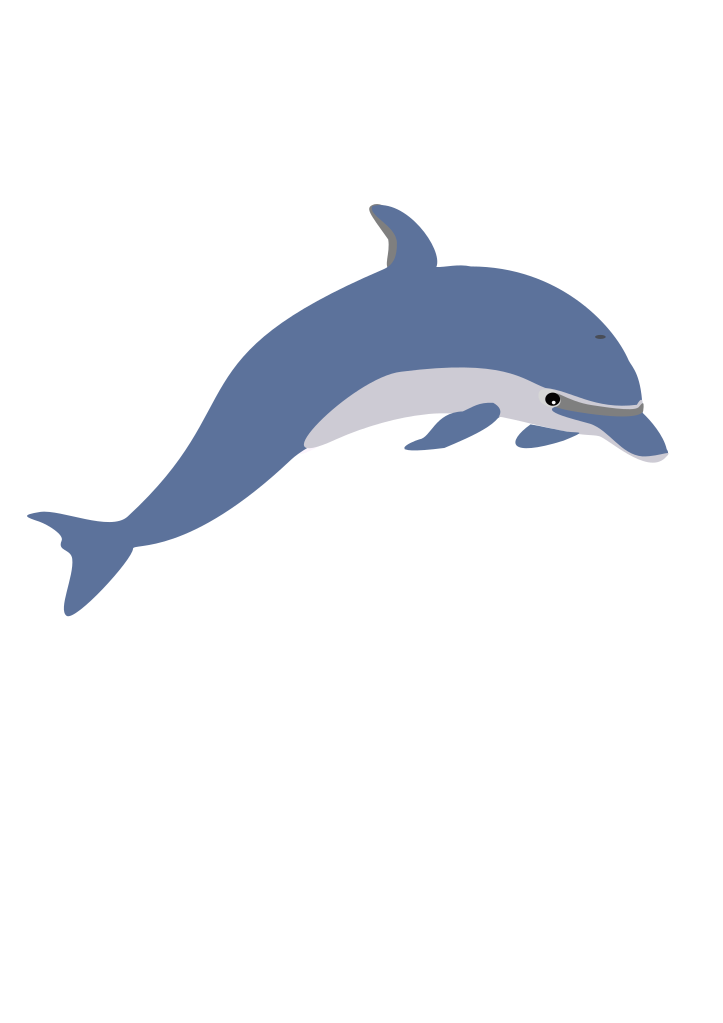 dolphin clipart svg #96840384