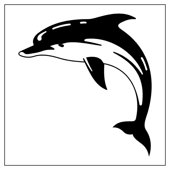 Dolphin clipart tattoo. Tribal tattoos designs ideas
