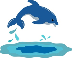 Clip art outline panda. Dolphin clipart jumping dolphin