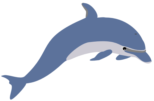 Free dolphin and whale. Dolphins clipart