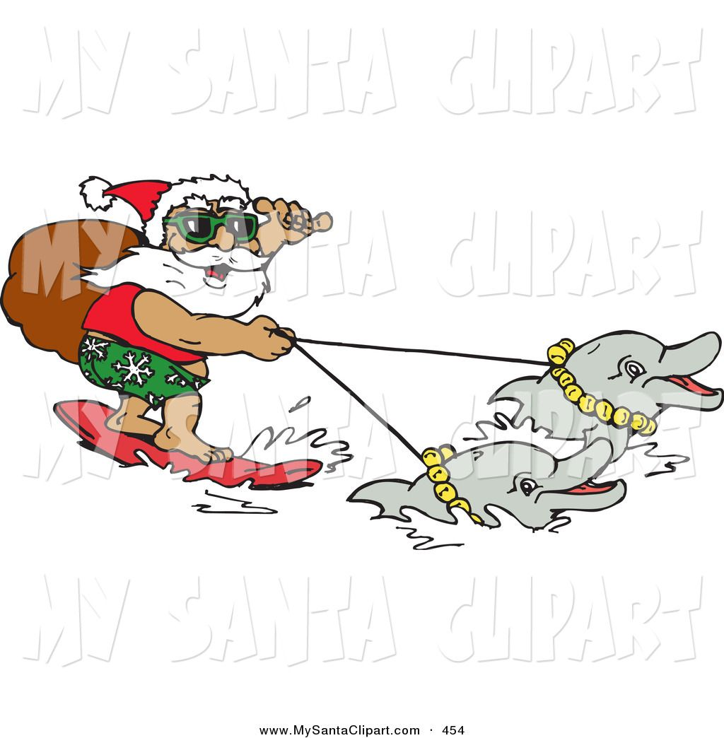 Dolphins clipart christmas. Pin by jagrlover nammygirl
