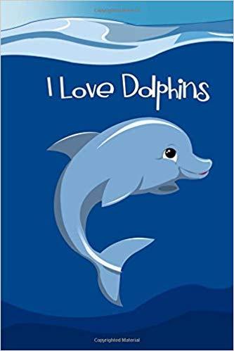 Dolphins clipart girl dolphin. I love blank journal