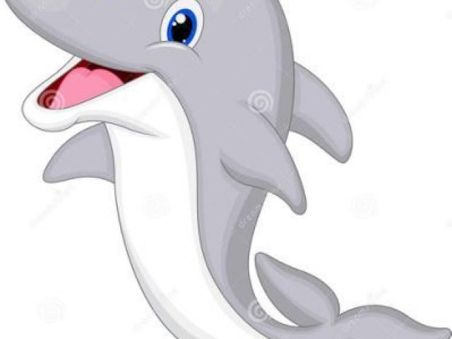 Dolphins clipart gray dolphin. Free download clip art