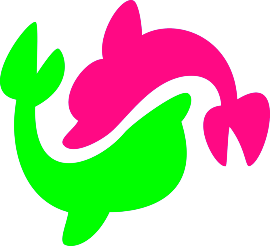 Dolphin cutie mark by. Dolphins clipart splashing