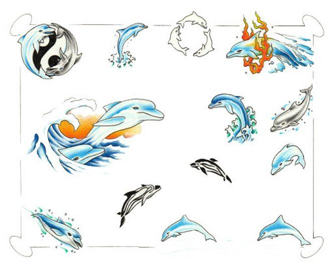 Pin by sofia fajardo. Dolphins clipart tattoo
