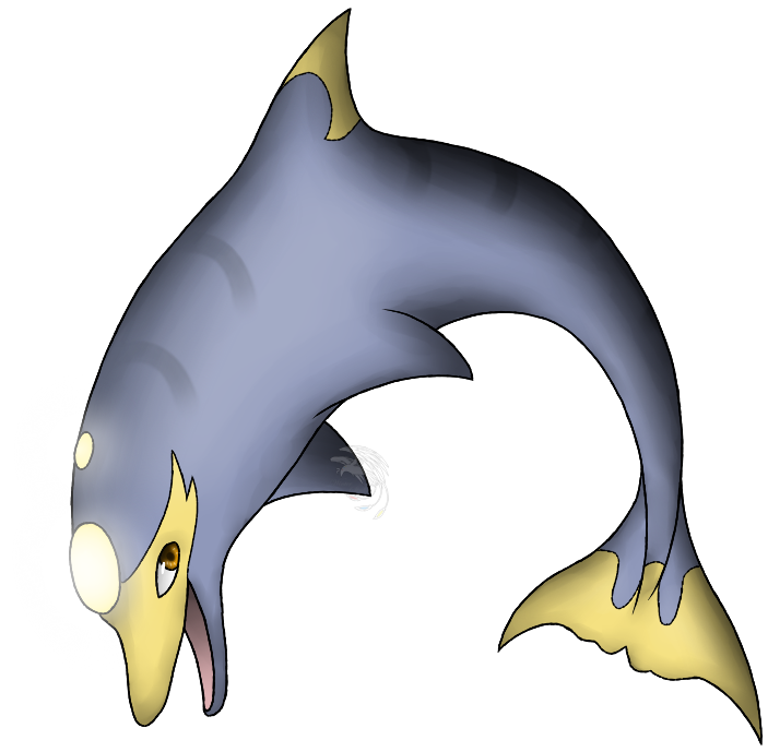 Liphin by skyline on. Dolphins clipart winter