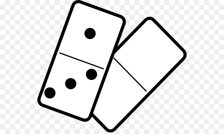 Domino clipart. Dominoes game clip art