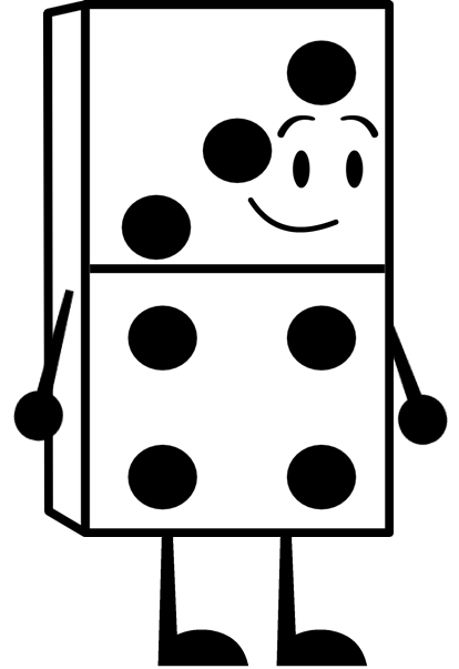 Brownfamily oc object shows. Domino clipart