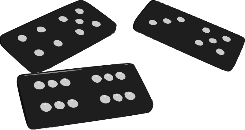Domino clipart. Dominoes medium image png
