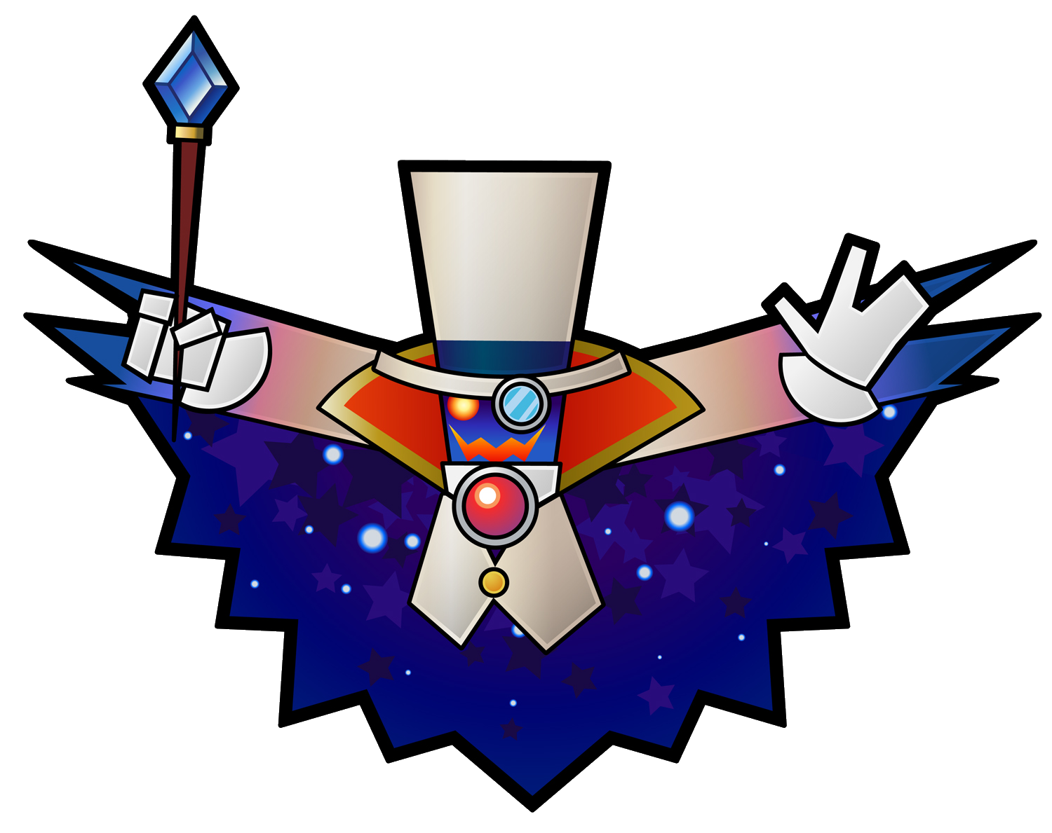 Domino clipart counting. Count bleck villains wiki
