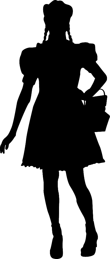 Emerald city at getdrawings. Needle clipart silhouette