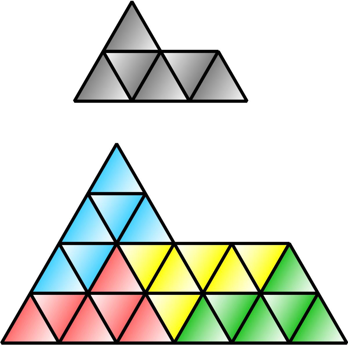 Hexagon clipart equilateral. Sphinx tiling wikipedia