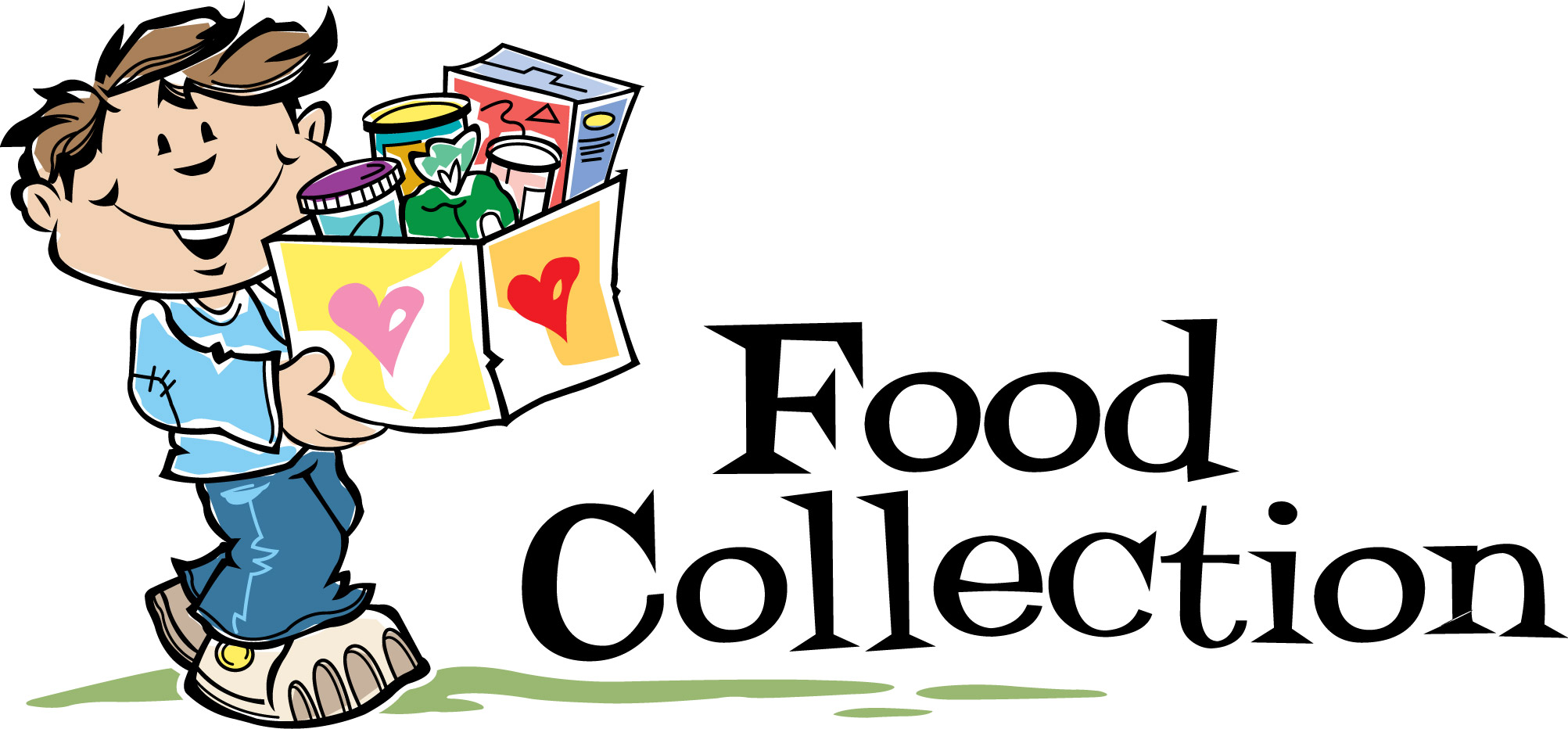 Food donation river style. Bank clipart kid