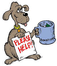 Animal shelter donations . Donation clipart