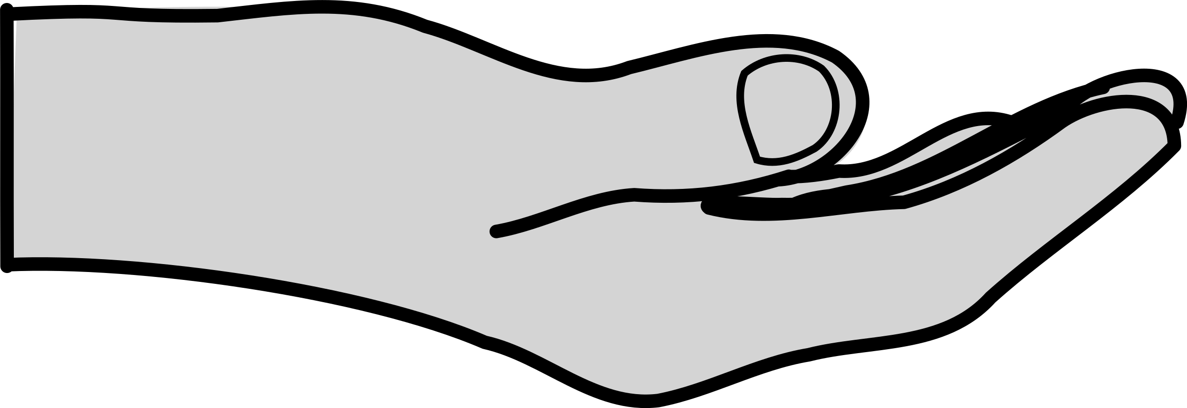 Skin clipart outstretched hand. Big image png