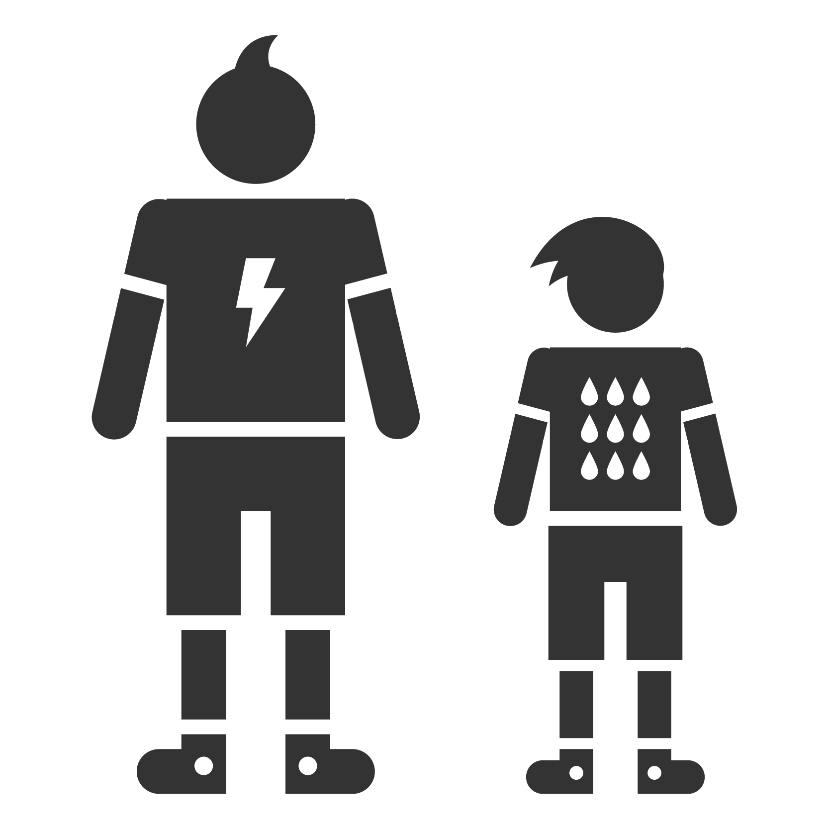 Big brothers sisters of. Positive clipart black and white