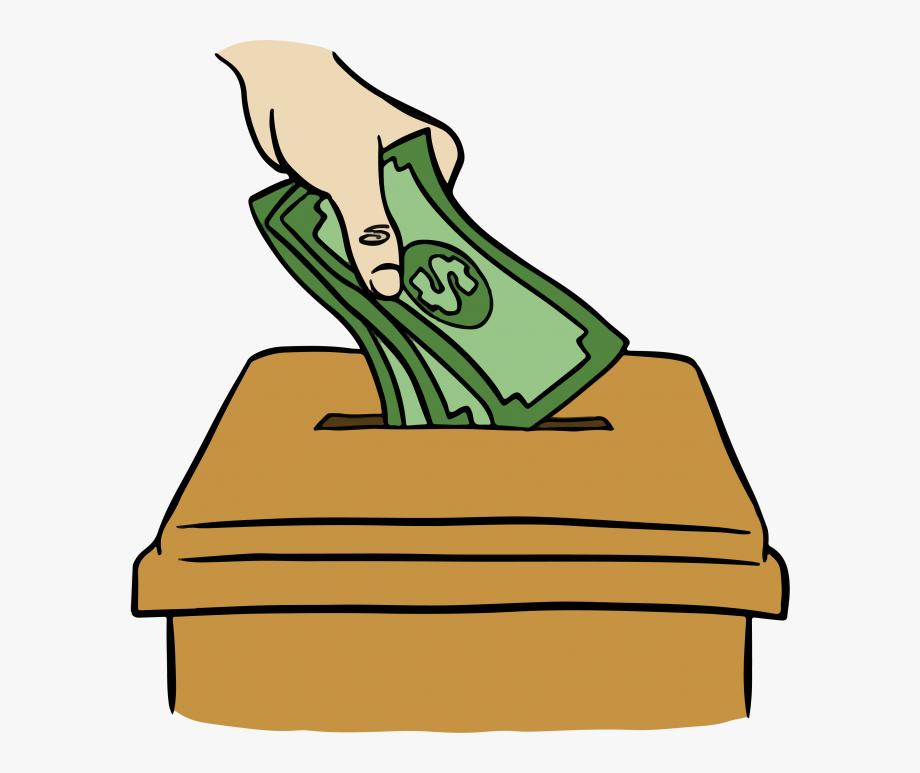 Donation clipart cash payment. Donating money png free