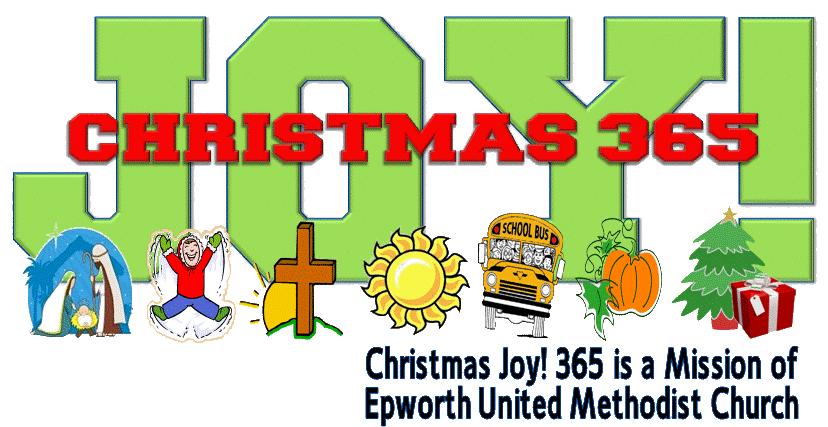 Christmas joy epworth home. Donation clipart cloth
