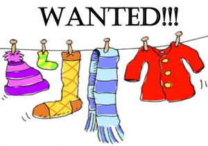 Donate to help support. Donation clipart clothing drive