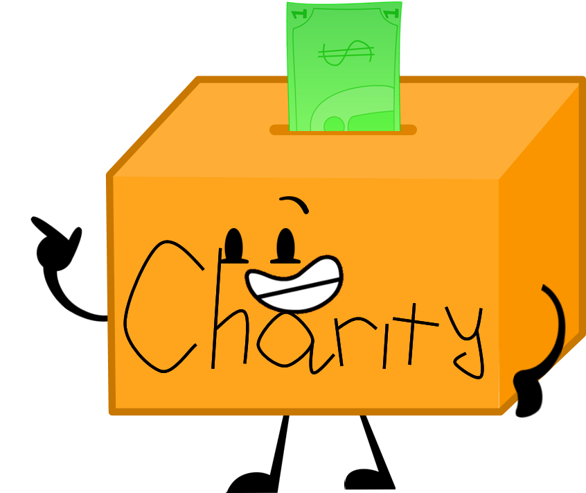 Image pose png object. Donation clipart donation box