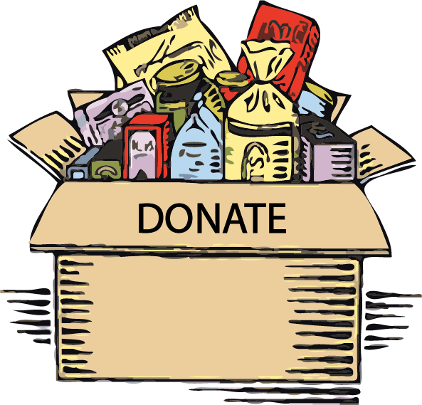 Donation clipart food bank. Lee county rescue campaign
