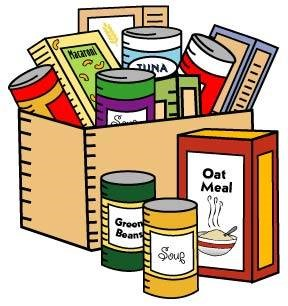 donation clipart food pantry donation