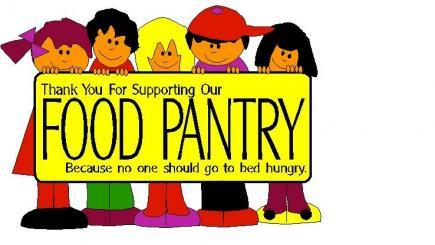 Donation clipart food pantry donation. Donations needed for the