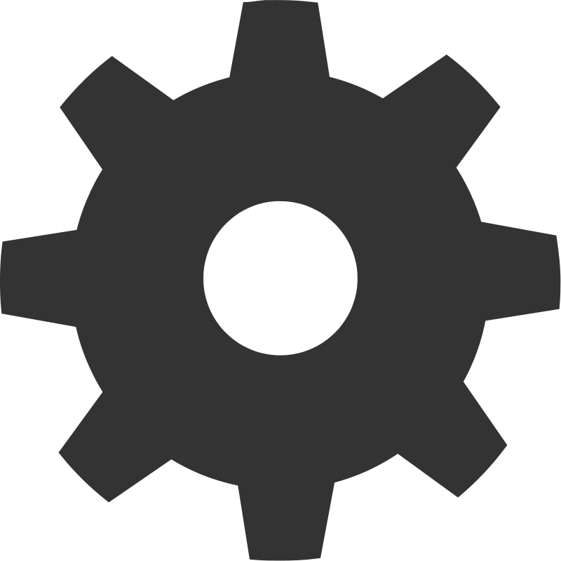 Silhouette at getdrawings com. Gears clipart gear shape