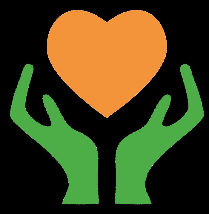 Donation clipart hand heart. Charitable organization non profit
