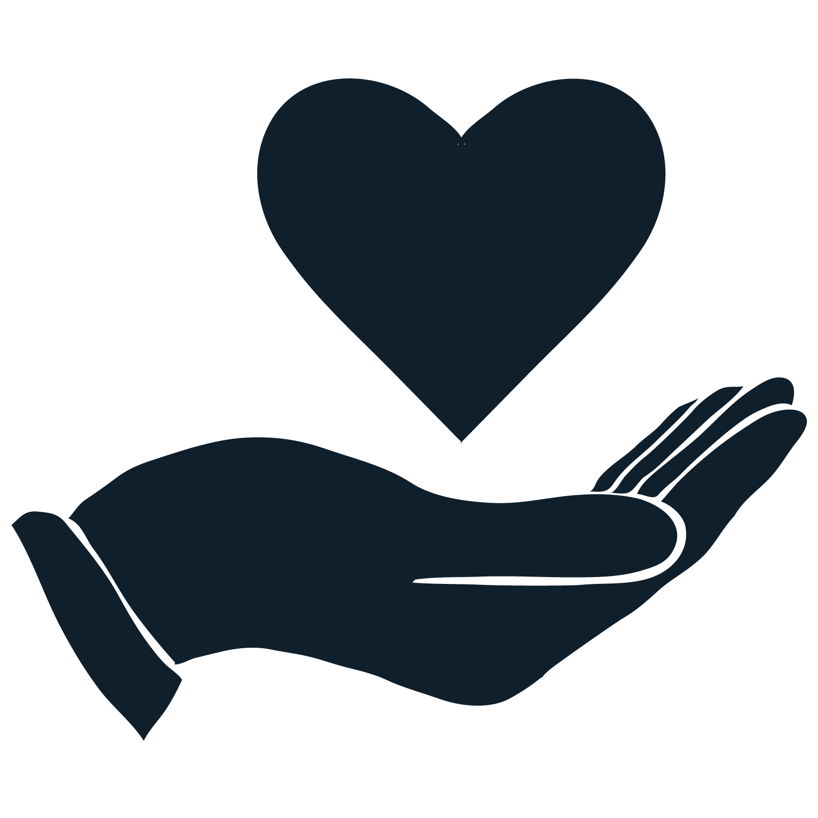 Mount st helens institute. Donation clipart hand heart