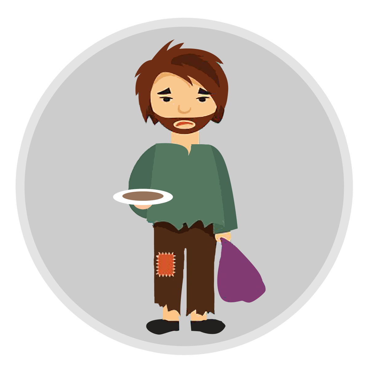 poverty clipart homless #139559163