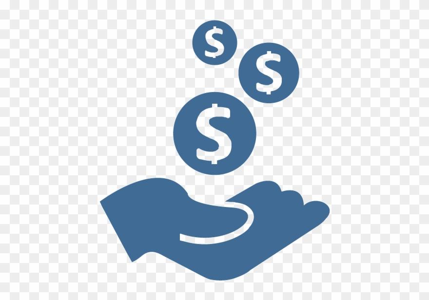 Cash investment . Donation clipart money back