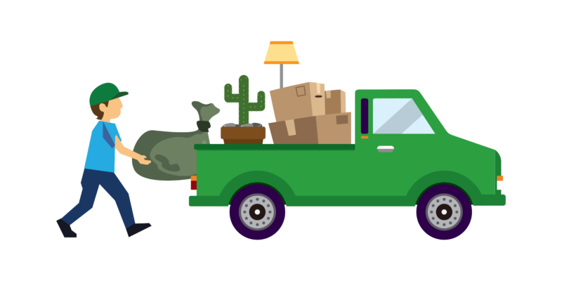 Furniture clipart furniture movers. Donations pickup tapptruck