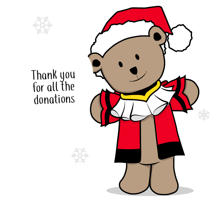 Teddy mayors appeal donate. Donation clipart toy donation