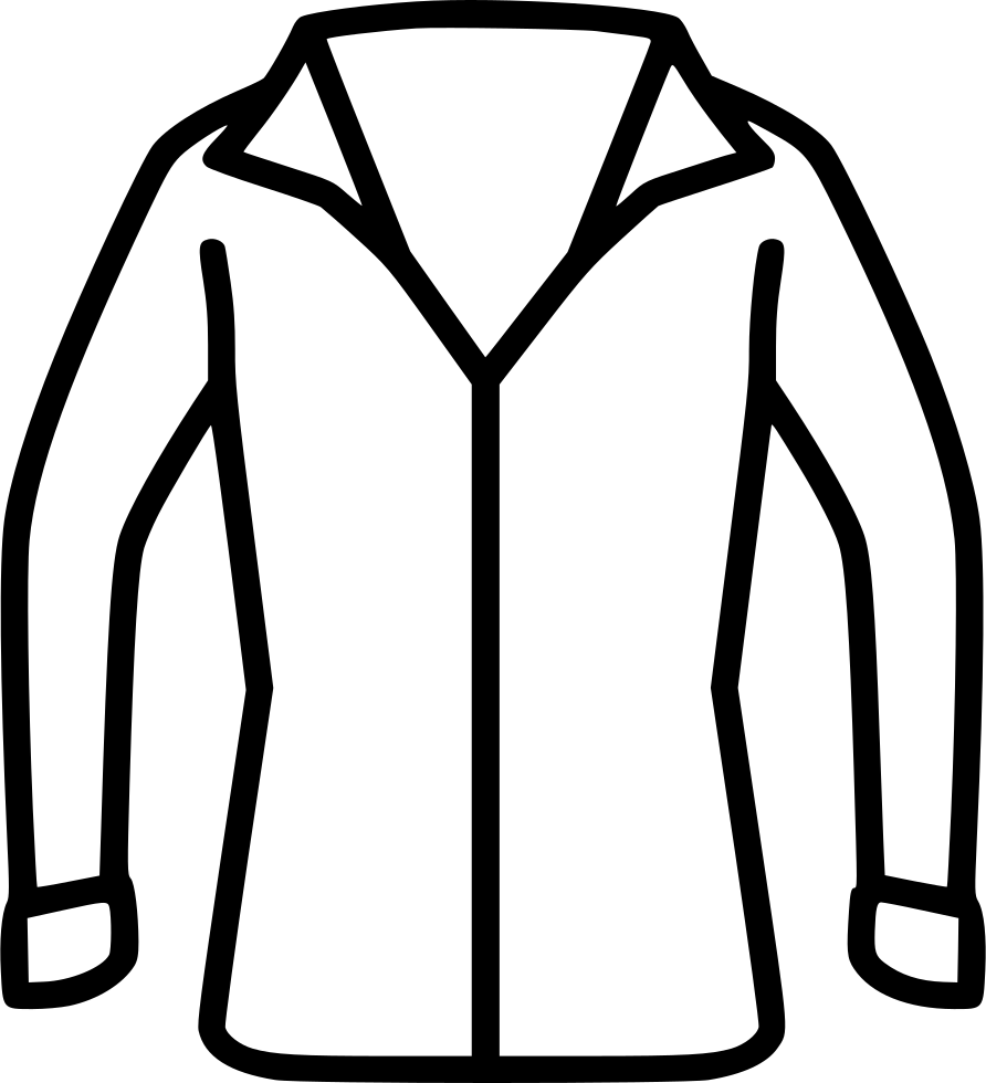 Jacket clipart non. Blouse svg png icon