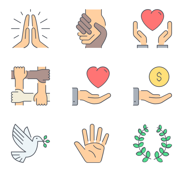 Donation clipart vector. Icons free ngo blood