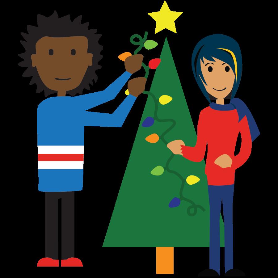 Kind clipart karens kid. Holiday wishes st vincent