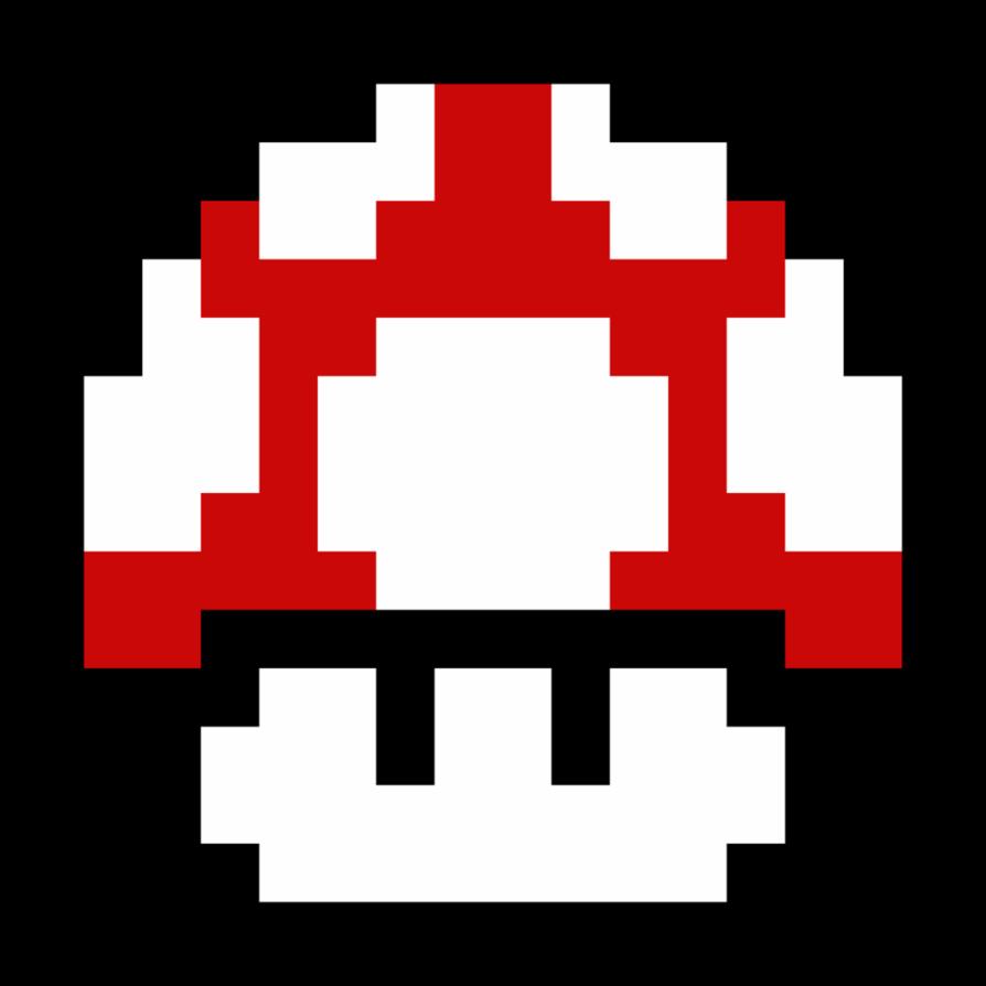 mushroom by nathanmarino. Game clipart 8 bit