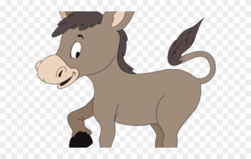 Donkey sick drawing png. Mule clipart cartoon