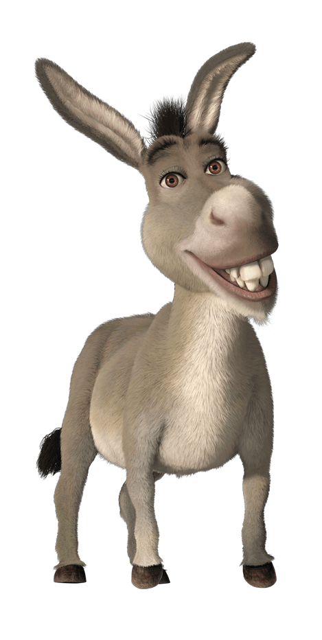 Mule clipart domesticated. Donkey png images free