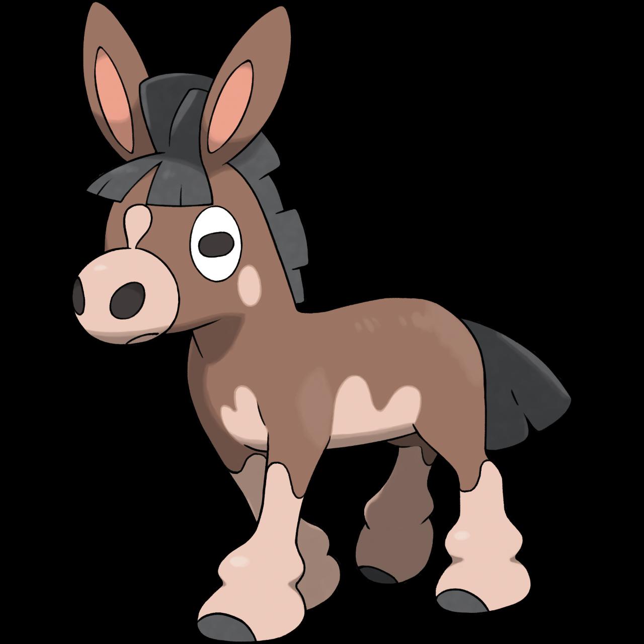 Vp pok mon thread. Mule clipart domesticated