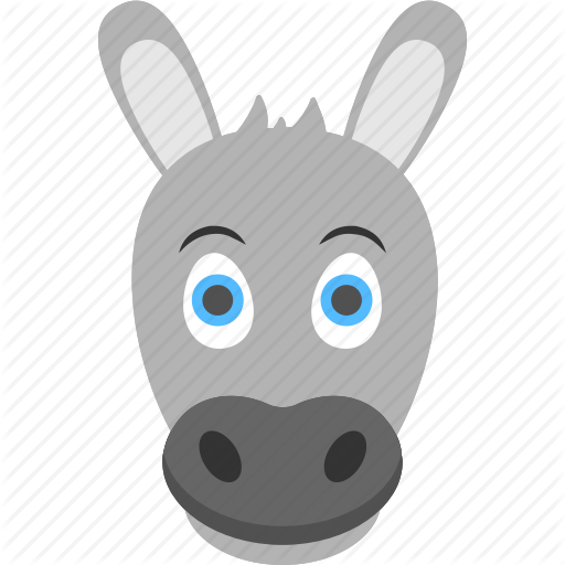 Donkey clipart donkey face. Drawing free download best