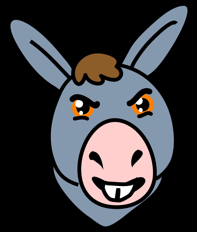 File icon svg wikimedia. Donkey clipart donkey face