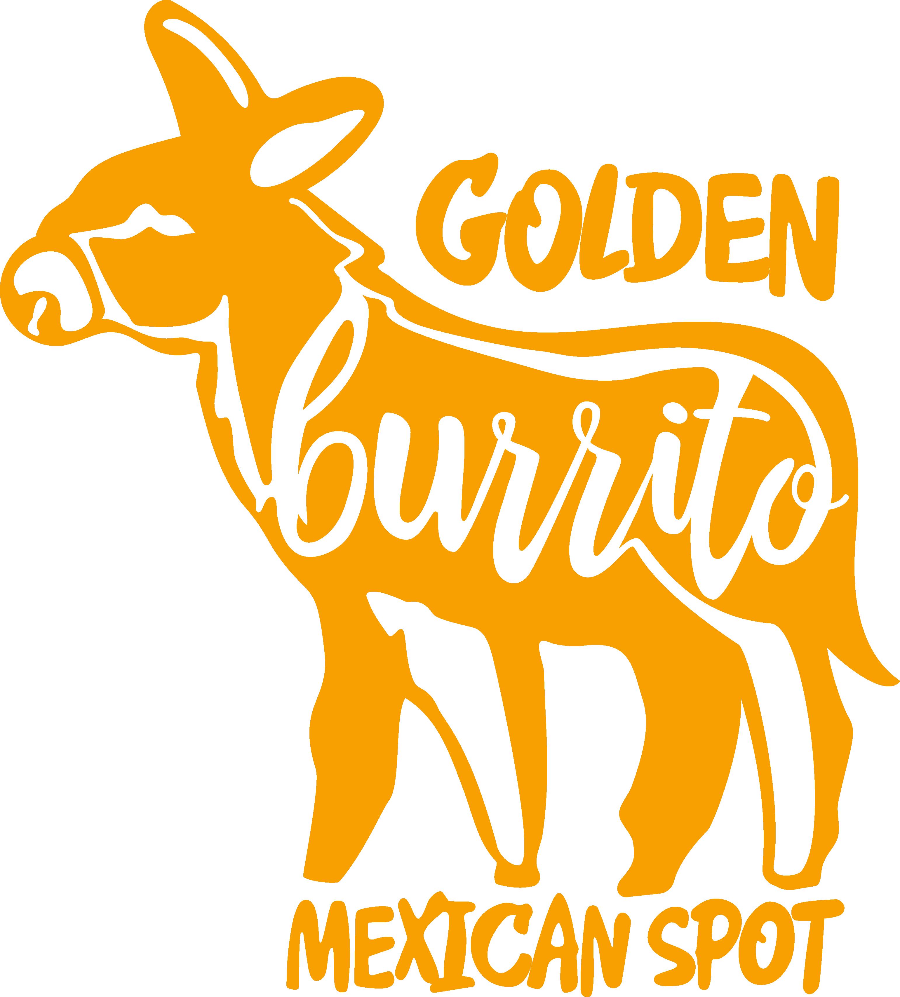Golden burrito restaurant in. Donkey clipart donkey mexican
