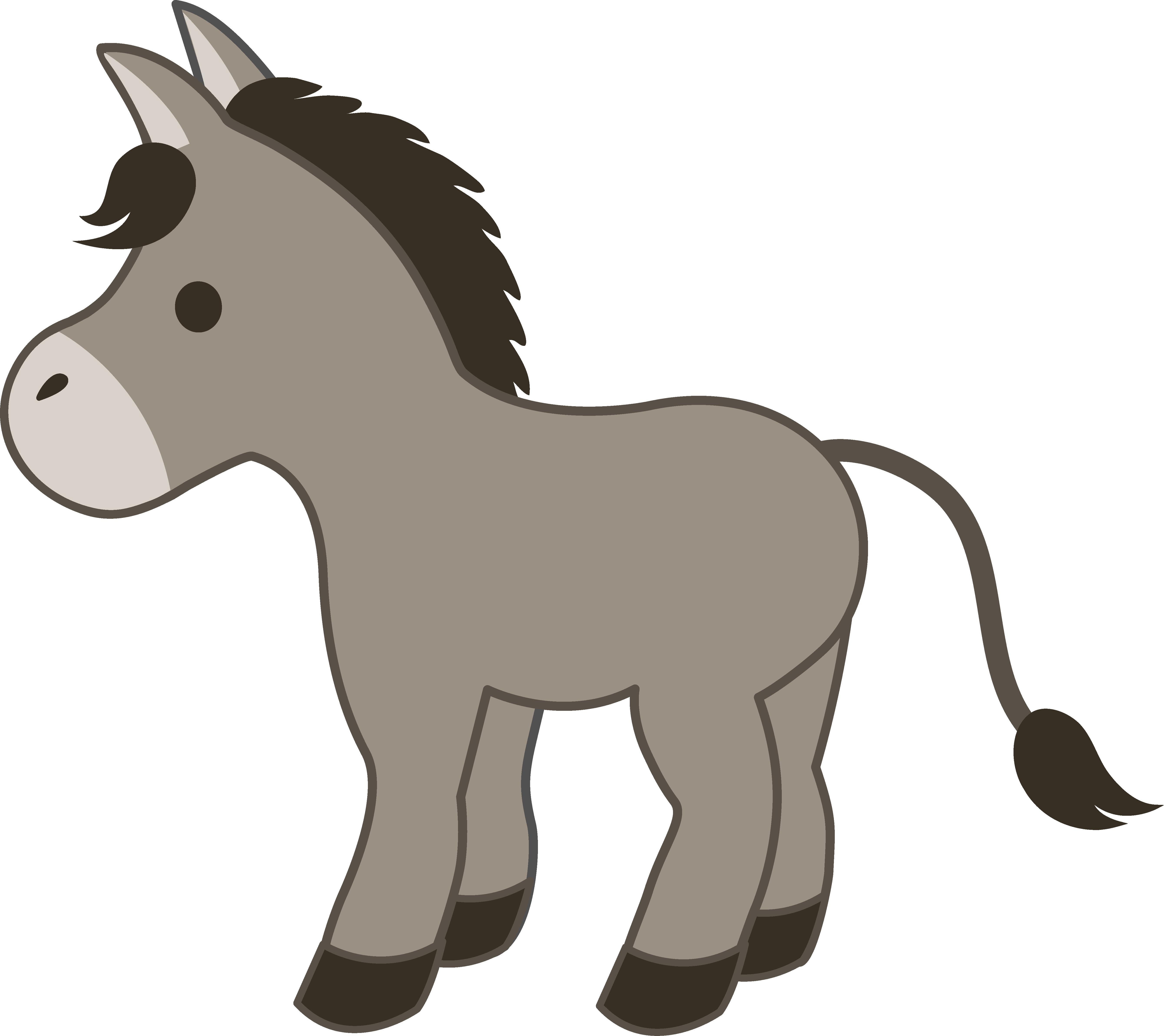 D easyeng from httpsweetclipartcomcutegraydonkey. Donkey clipart nativity donkey