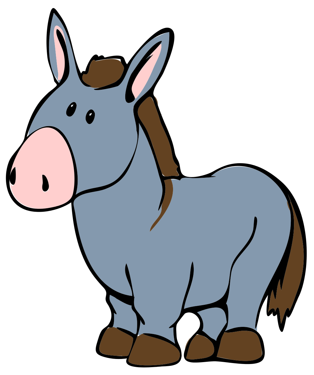 Free pictures illustrations clip. Head clipart donkey