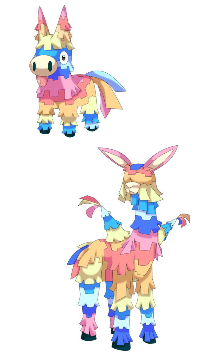 Pinata clipart kid mexican. Fakemon viva rejected by