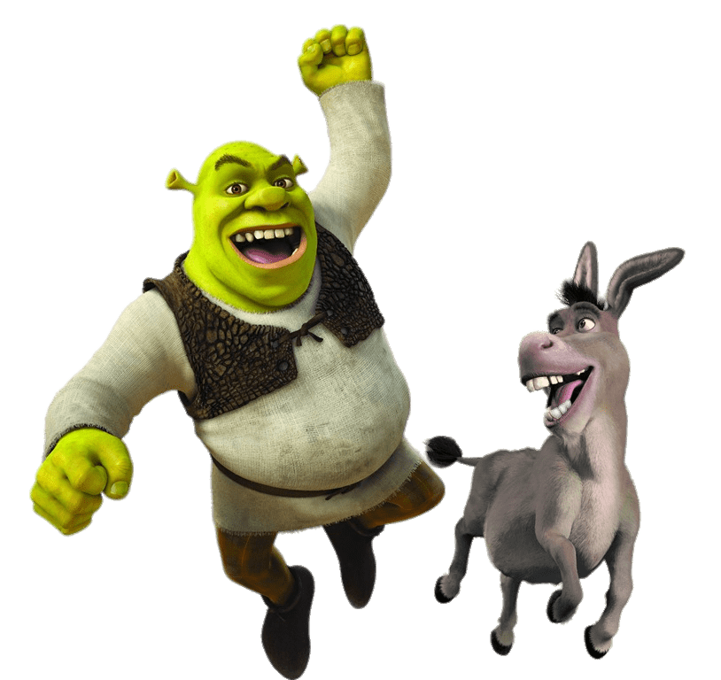 Donkey clipart shrek character. And transparent png stickpng